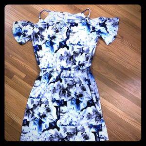 Cold-Shoulder WHBM Dress